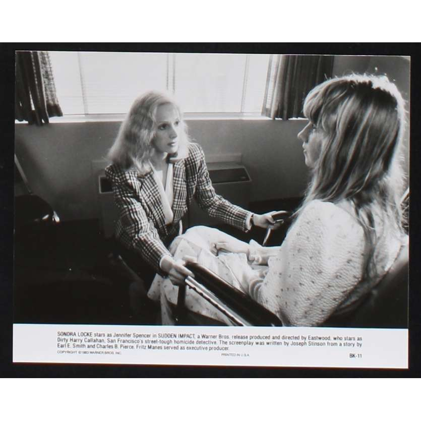 SUDDEN IMPACT US Movie Still N8 8x10 - 1983 - Clint Eastwood, Sondra Locke