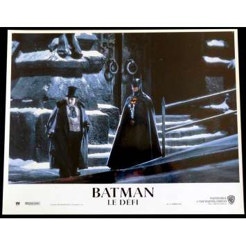 BATMAN RETURNS French Lobby Card N9 9X12 - 1992 - Tim Burton, Michele Pfeiffer
