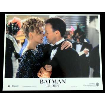 BATMAN RETURNS French Lobby Card N7 9X12 - 1992 - Tim Burton, Michele Pfeiffer