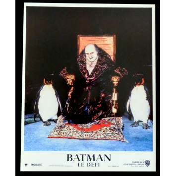 BATMAN RETURNS French Lobby Card N3 9X12 - 1992 - Tim Burton, Michele Pfeiffer