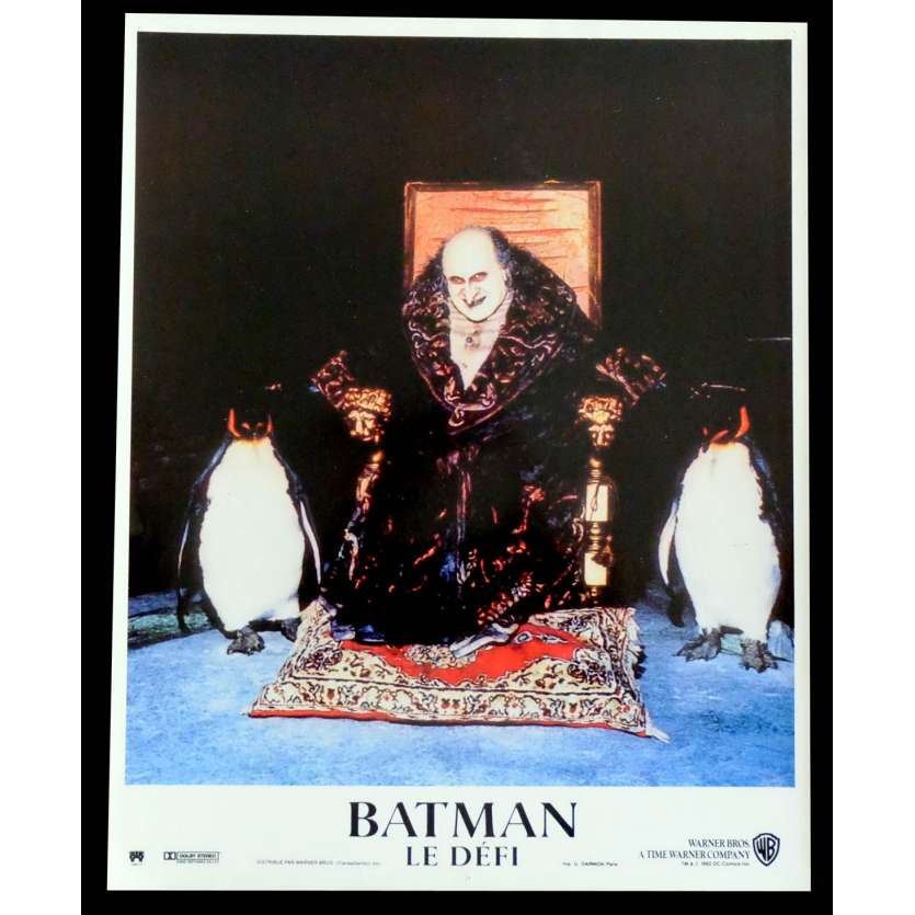 BATMAN LE DEFI Photo de film N3 21X30 - 1992 - Michele Pfeiffer, Tim Burton