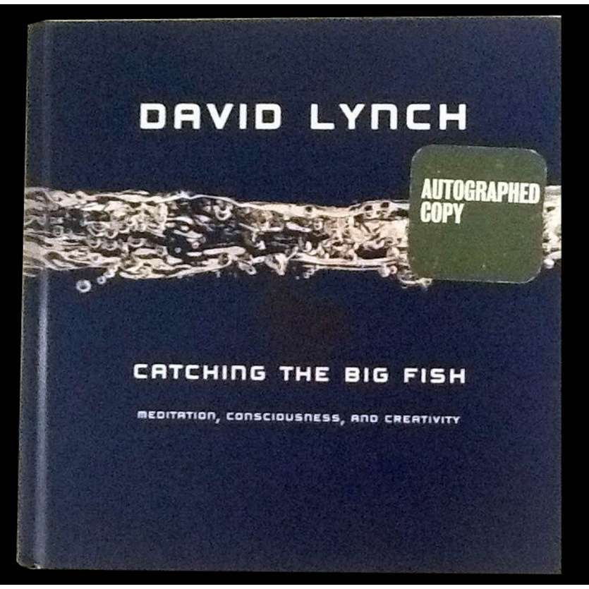 DAVID LYNCH - CATCHING THE BIG FISH US Signed Book 7,4x7,4 - 2007 - David Lynch,