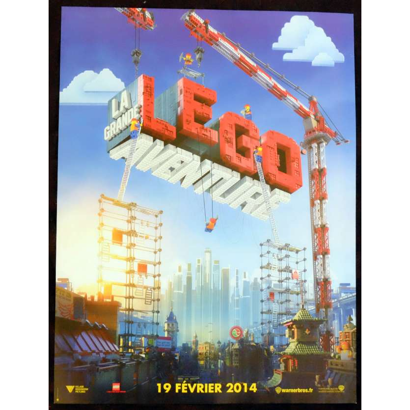 THE LEGO MOVIE French Movie Poster 15x21 - 2014 - Phil Lord, Will Arnett