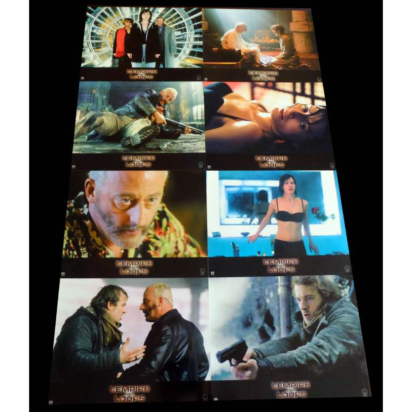 EMPIRE OF THE WOLVES French Lobby cards 9X12 - 2005 - Chris Nahon, Jean Reno