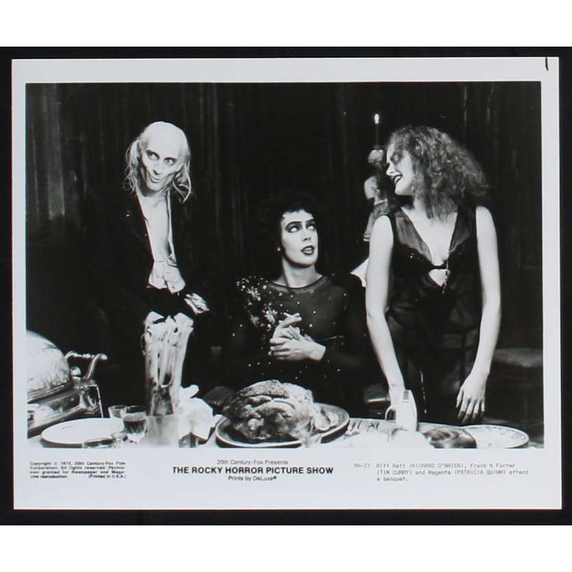 ROCKY HORROR PICTURE SHOW Photo de presse 6 20x25 - 1975 - Tim Curry, Jim Sharman