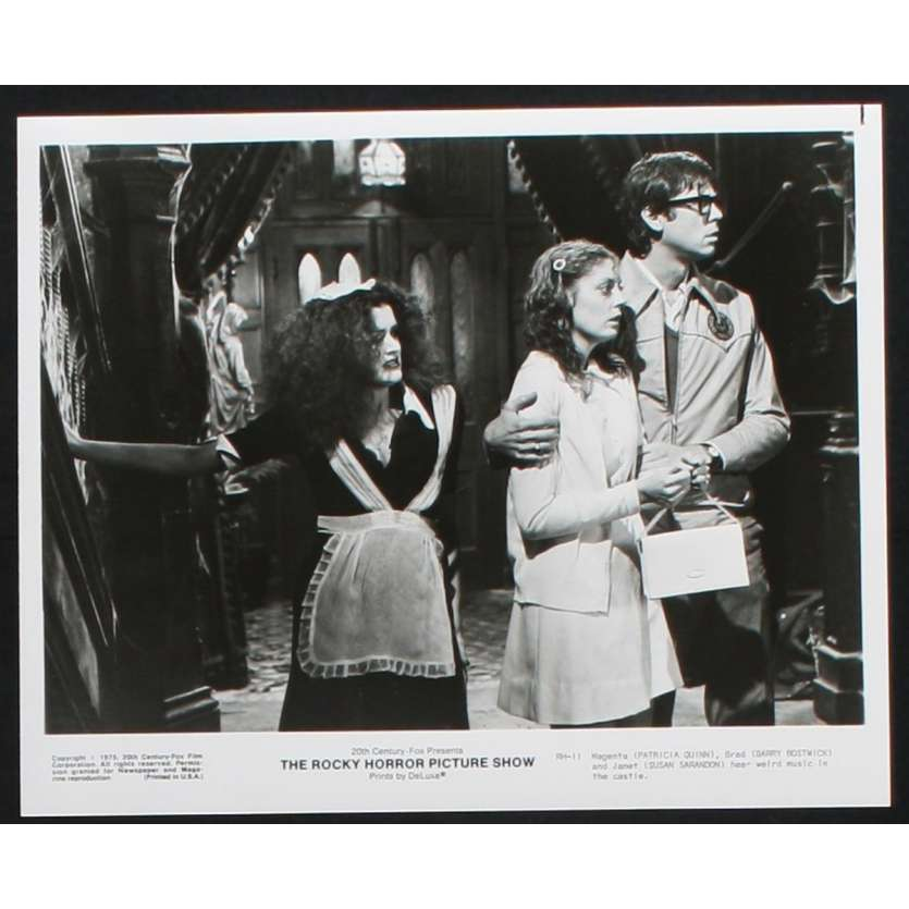 ROCKY HORROR PICTURE SHOW Photo de presse 2 20x25 - 1975 - Tim Curry, Jim Sharman