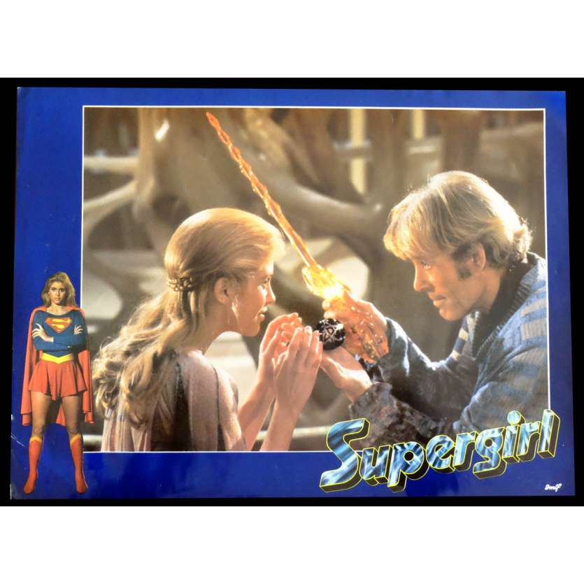 SUPERGIRL French Lobby cards 9X12 - 1984 - Jeannot Szwarc, Helen Slater