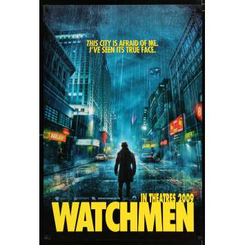 WATCHMEN US Movie Poster 29x41 - 2009 - Zack Snyder, Patrick Wilson
