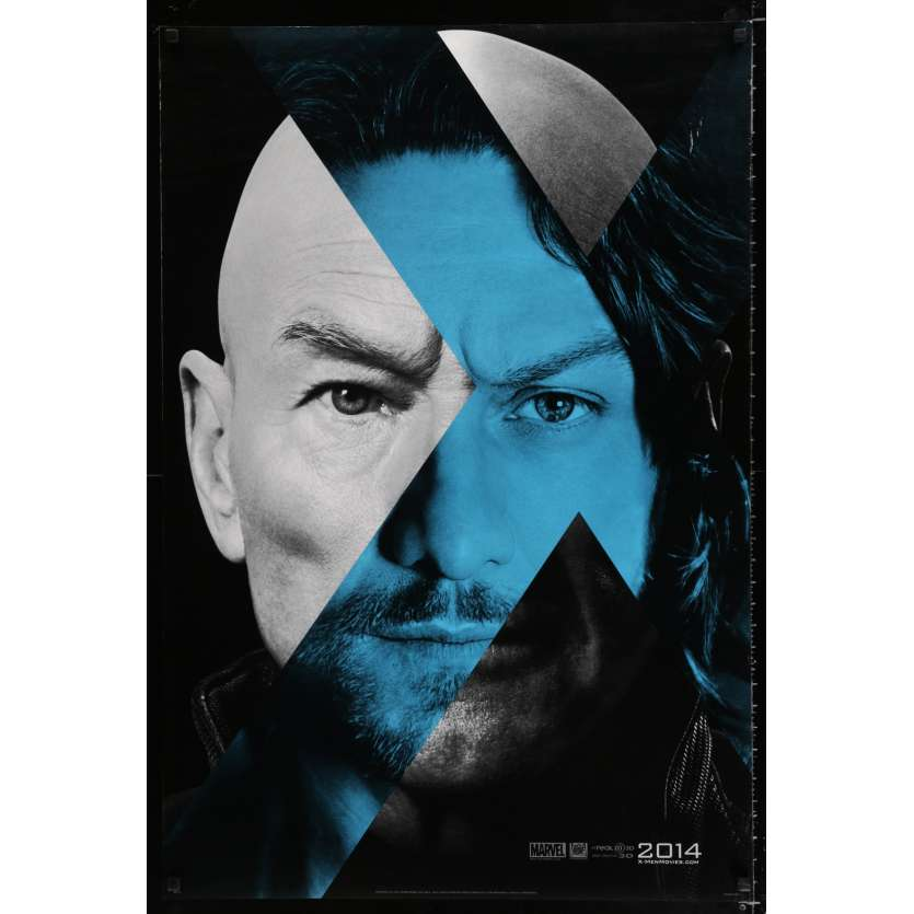 X-MEN: DAYS OF FUTURE PAST US Movie Poster 29x41 - 2014 - Bryan Singer, Hugh Jackman