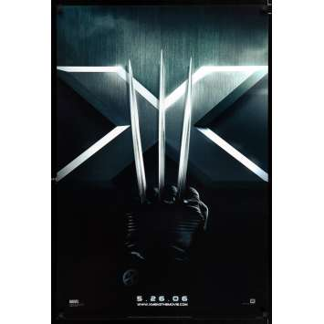 X-MEN: L'AFFRONTEMENT FINAL Affiche de film 69x104 - 2006 - Hugh Jackman, Brett Ratner
