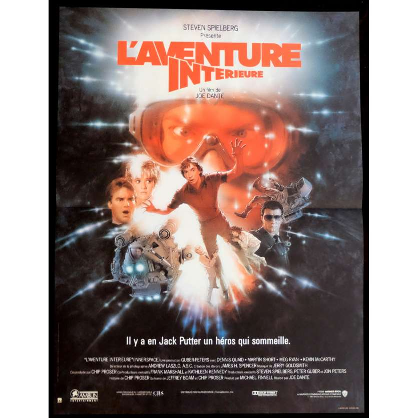 INNERSPACE French Movie Poster 15x21 '87 Joe Dante, Dennis Quaid