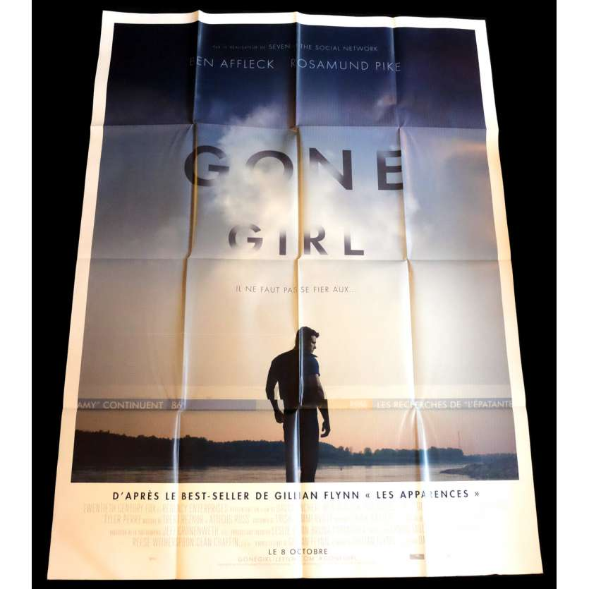 GONE GIRL French Movie Poster 47x63 - 2014 - David Fincher, Ben Affleck