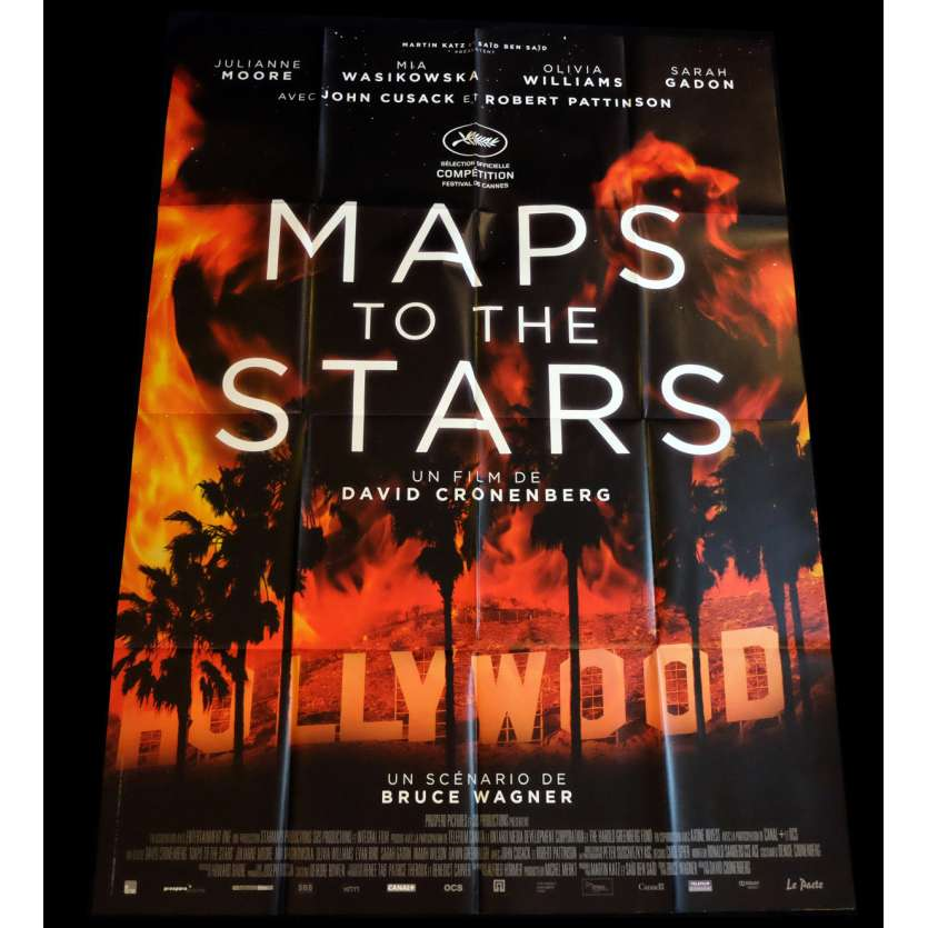 MAP TO THE STARS French Movie Poster 47x63 - 2014 - David Cronenberg, Julianne Moore
