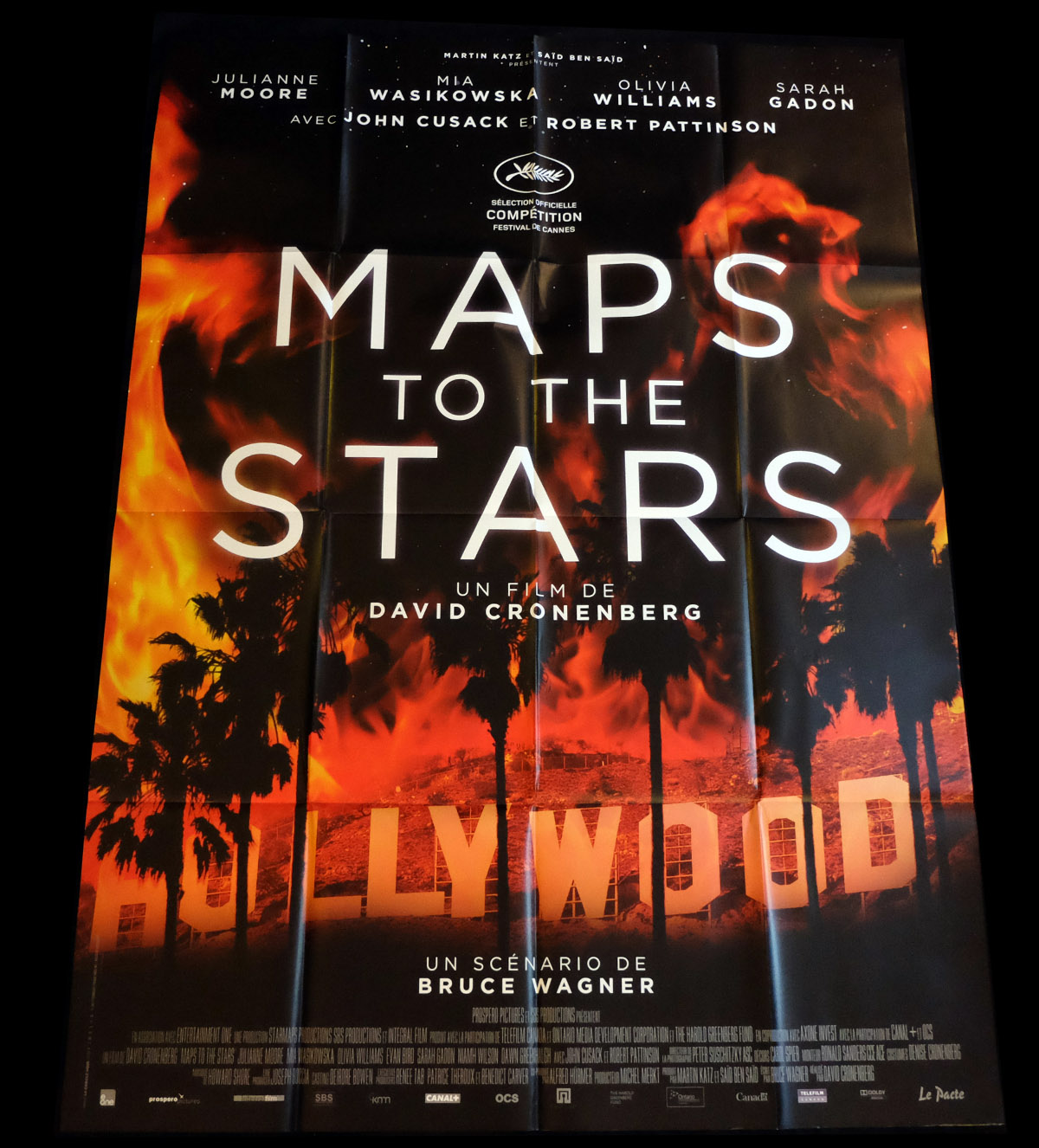 MAPS TO THE STARS French Movie Poster 47x63 - 2014 - David Cronenberg, Map To The Stars Movie on trip map, space map, war map, princess map, fun map, statue map, portrait map, adventure map, musical map, animation map, 9gag map, action map, media map, water map, dual screen map, game map, novel map, right to die map, seaworld gold coast map, business map,