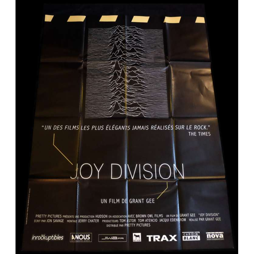 JOY DIVISION French Movie Poster 47x63 - 2007 - Grant Gee, Anton Corbjin