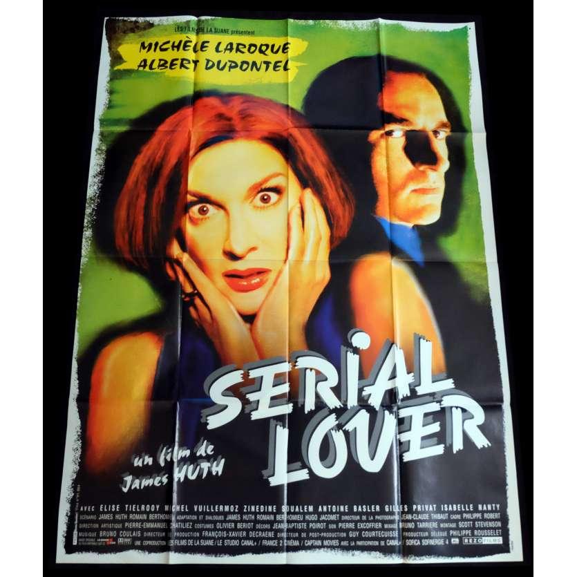 SERIAL LOVER Affiche de film 120x160 - 1998 - Albert Dupontel, James Huth