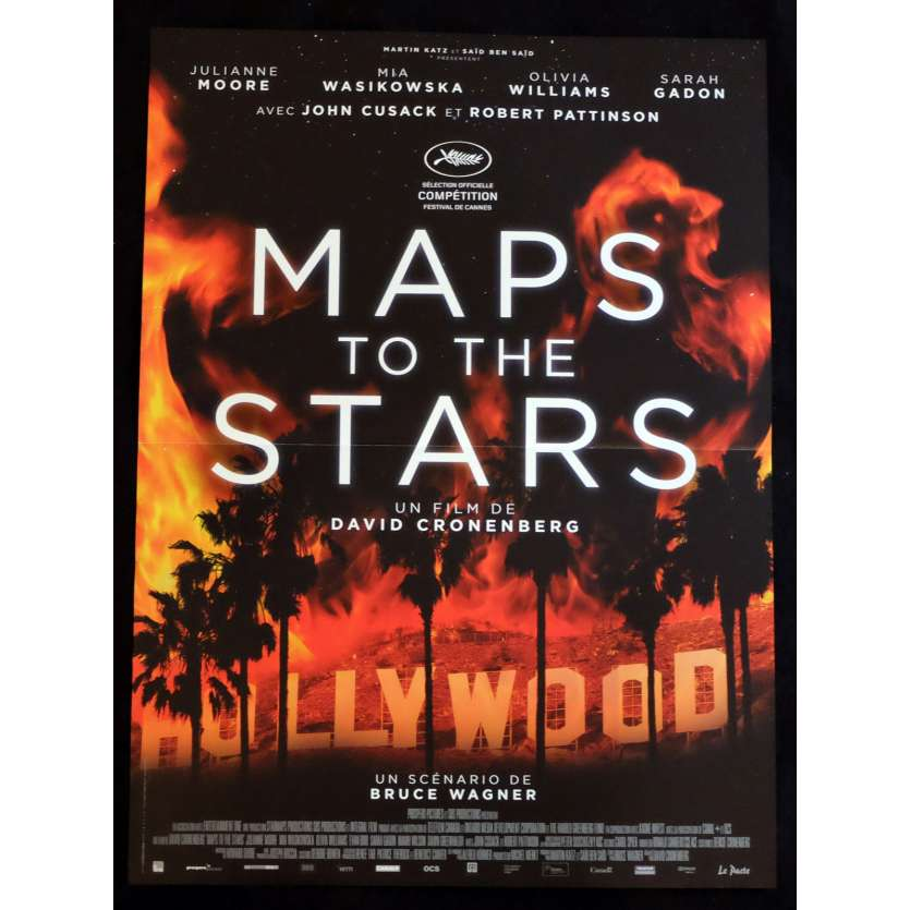 MAP TO THE STARS Affiche de film 40x60 - 2014 - Julianne Moore, David Cronenberg