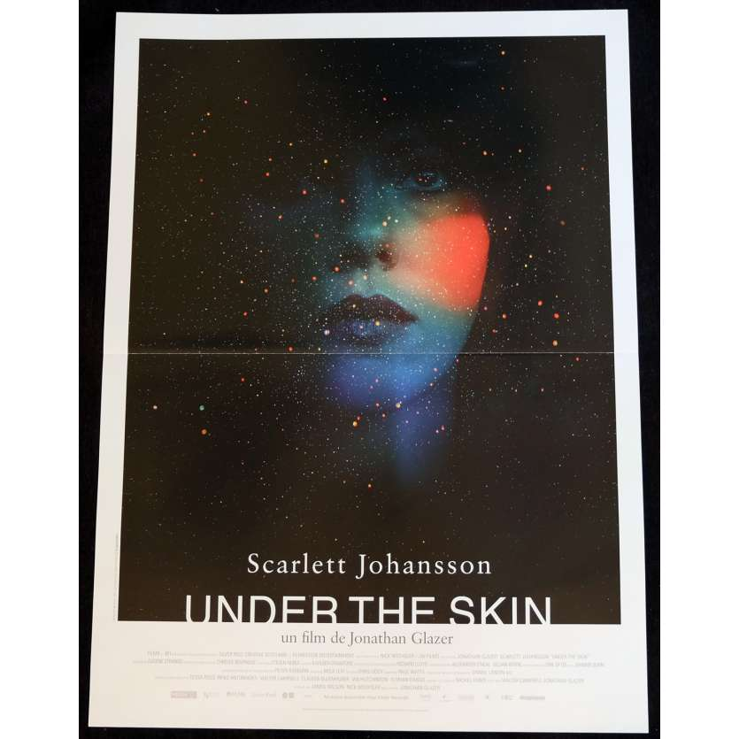 UNDER THE SKIN French Movie Poster 15x21 - 2014 - Jonathan Glazer, Scarlett Johansson