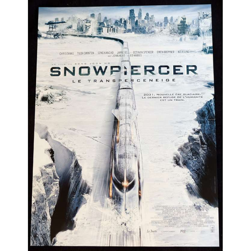 SNOWPIERCER French Movie Poster 15x21 - 2012 - Joon-ho Bong, Chris Evans