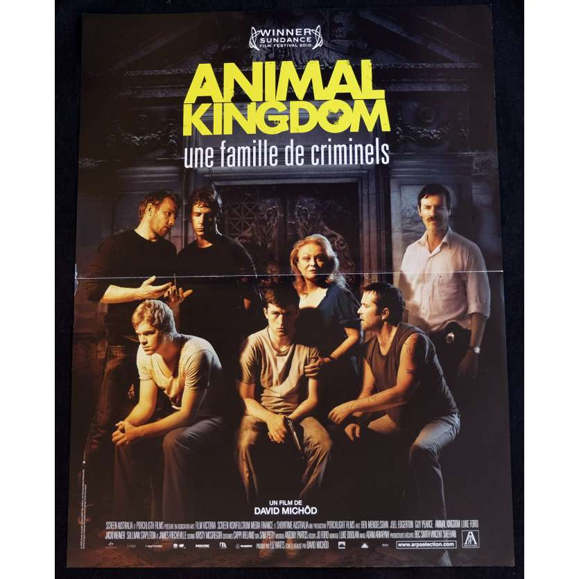 ANIMAL KINGDOM French Movie Poster 15x21 - 2010 - David Michot, Guy Pearce