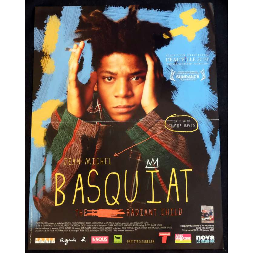 BASQUIAT, THE RADIANT CHILD French Movie Poster 15x21 - 2010 - Tamra Davis, Jean-Michel Basquiat