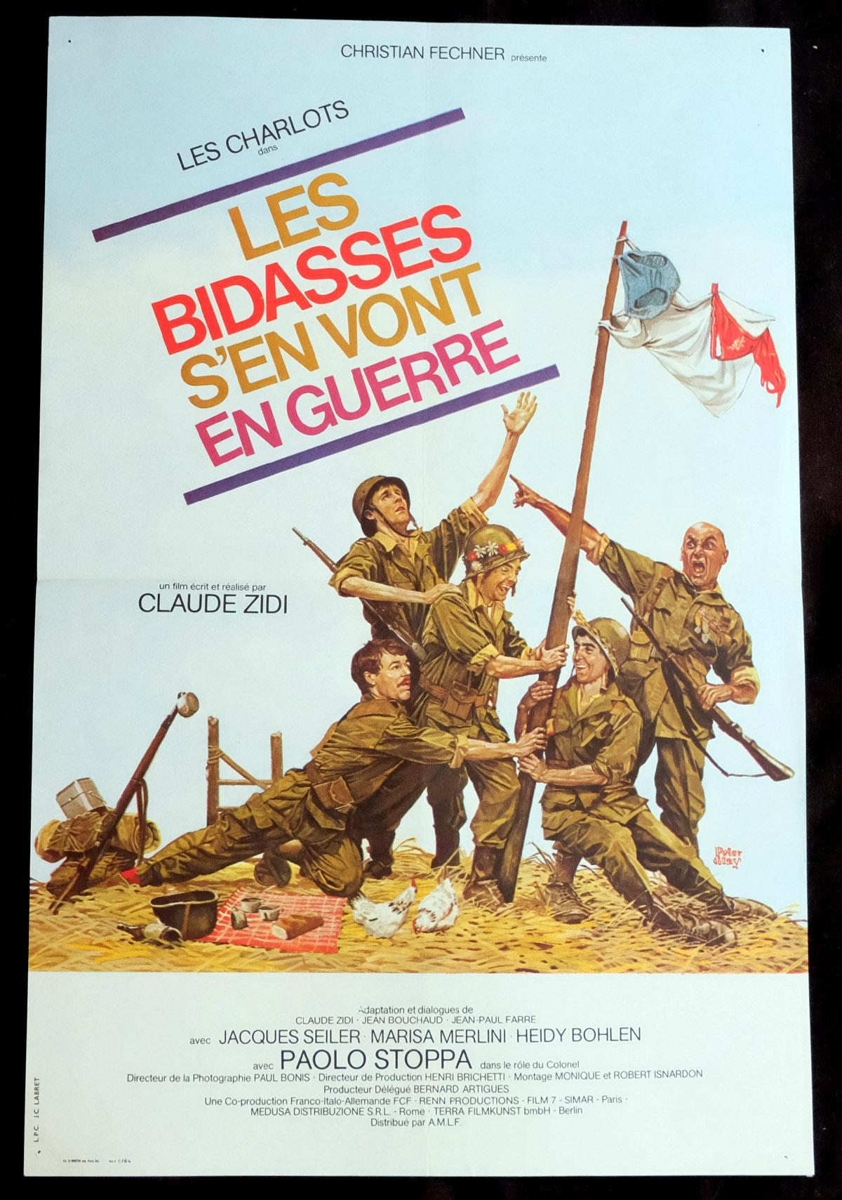 Image result for les bidasses s'en vont en guerre poster