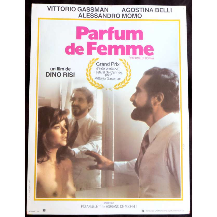 PARFUM DE FEMME Affiche de film 40x60 - 1974 - Vittorio Gassman, Dino Risi