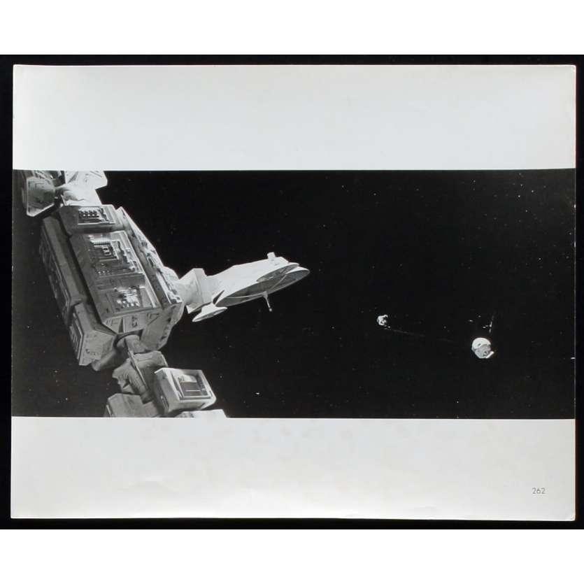 2001 L'ODYSSEE DE L'ESPACE Photo de presse N6 20x25 - 1968 - Keir Dullea, Stanley Kubrick