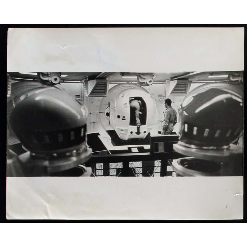 2001: A SPACE ODYSSEY US Movie Still N7 8x10 - 1968 - Stanley Kubrick, Keir Dullea