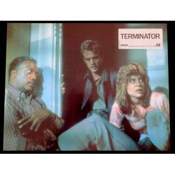 TERMINATOR French Lobby Card N8 9x12 - 1983 - James Cameron, Arnold Schwarzenegger