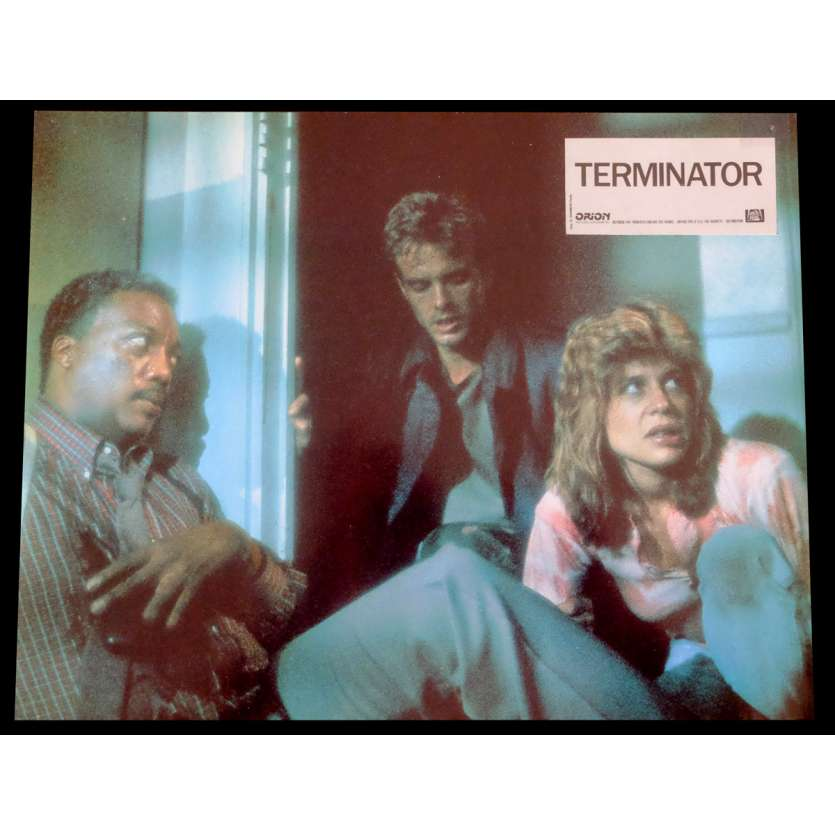 TERMINATOR Photo de film N8 21x30 - 1983 - Arnold Schwarzenegger, James Cameron