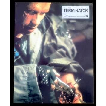 TERMINATOR French Lobby Card N2 9x12 - 1983 - James Cameron, Arnold Schwarzenegger