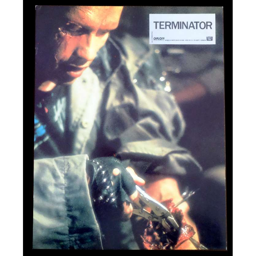 TERMINATOR Photo de film N2 21x30 - 1983 - Arnold Schwarzenegger, James Cameron