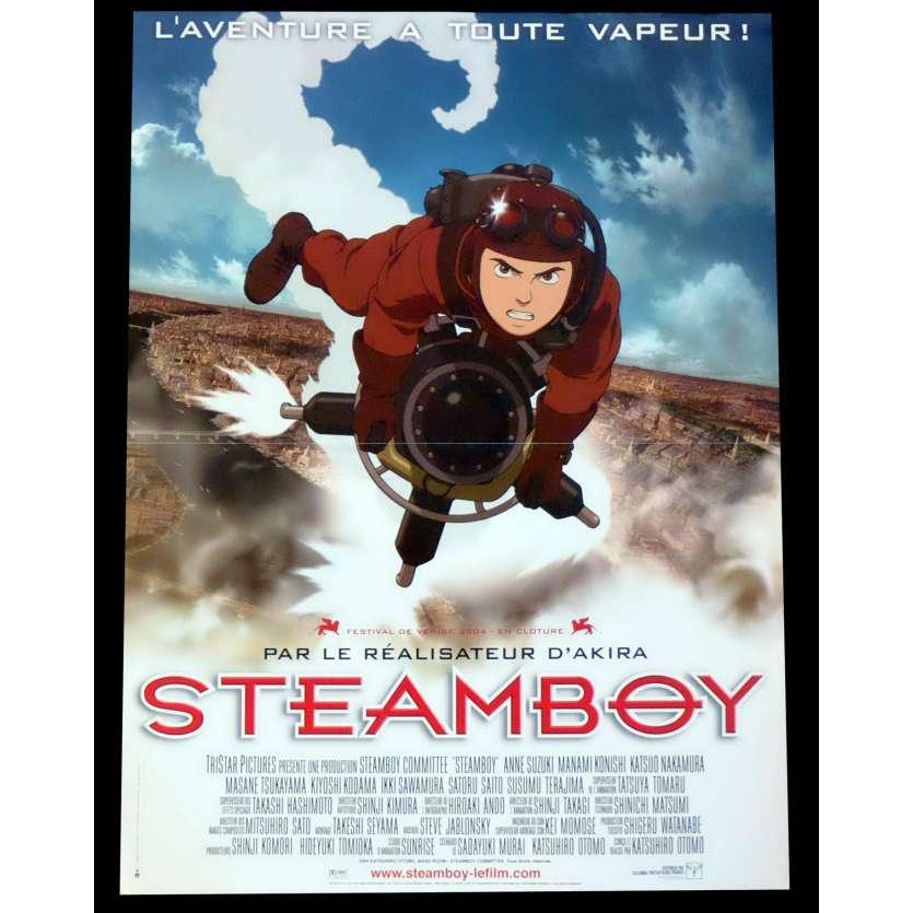 STEAMBOY Affiche de film 40x60 - 2004 - Anne Suzuki, Katsuhiro Ōtomo