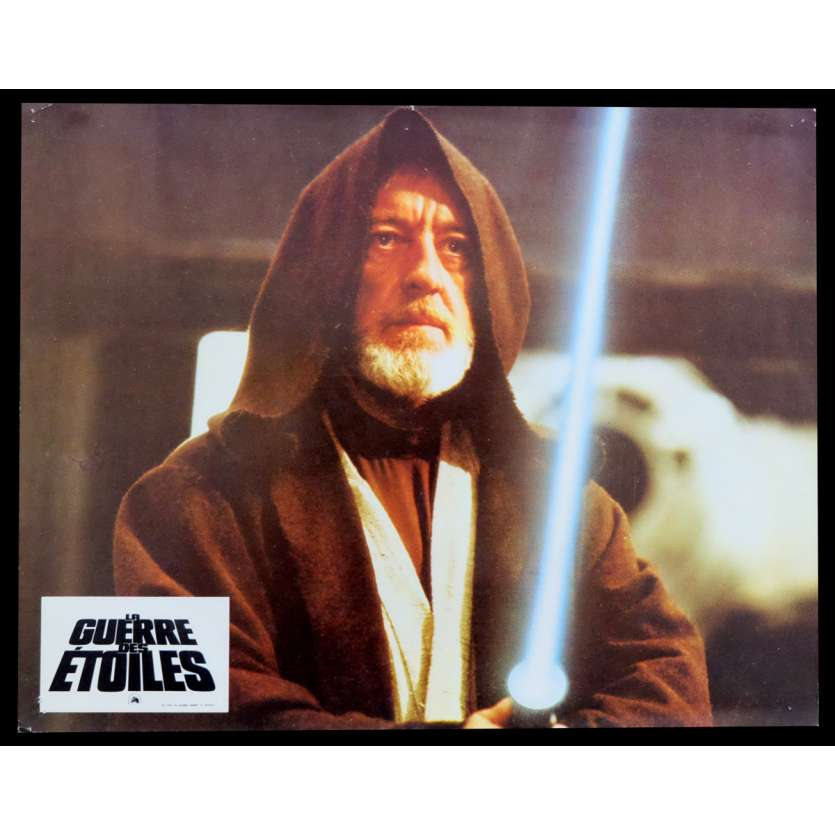 STAR WARS - A NEW HOPE French Lobby Card 9x12 - 1977 - George Lucas, Harrison Ford
