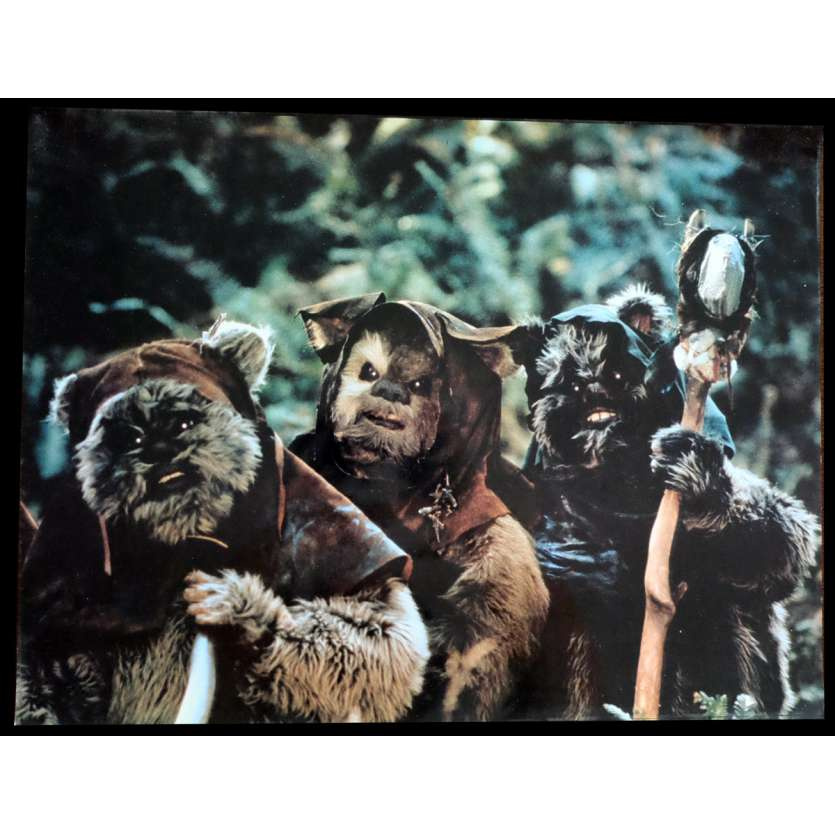 STAR WARS - LE RETOUR DU JEDI Photo Prestige N1 41x31 - 1983 - Harrison Ford, Richard Marquand