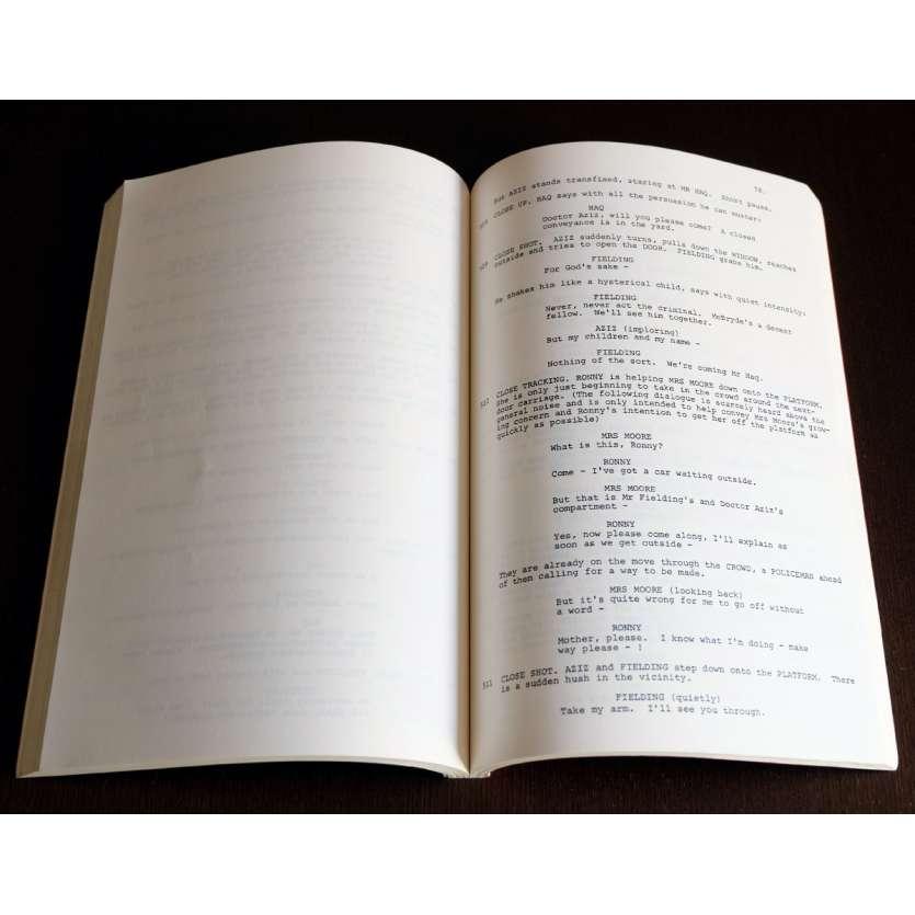 LA ROUTE DES INDES Scénario et coupures de presse 21x30 - 1983 - Alec Guiness, David Lean