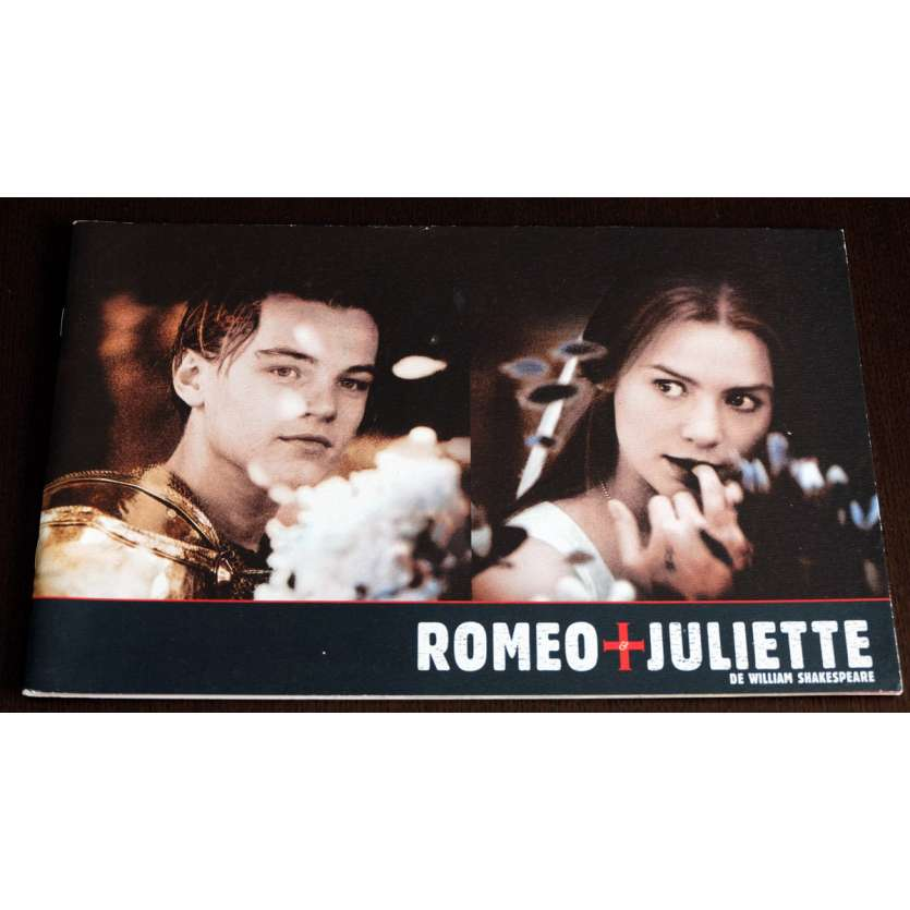 ROMEO AND JULIETTE French Program 35p 9x12 - 1996 - Baz Luhrman, Leonardo DiCaprio