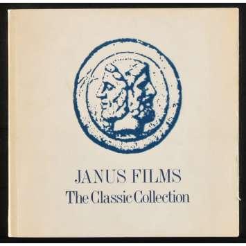 JANUS FILMS THE CLASSIC COLLECTION Catalogue 225p 21x21 - 1978