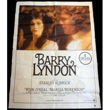BARRY LYNDON Affiche de film 120x160 - R1980 - Stanley Kubrick