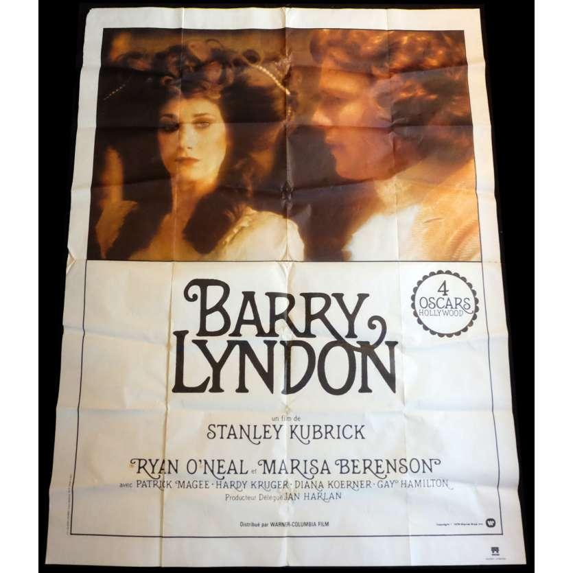 BARRY LYNDON Original french Movie Poster R80 Stanley Kubrick