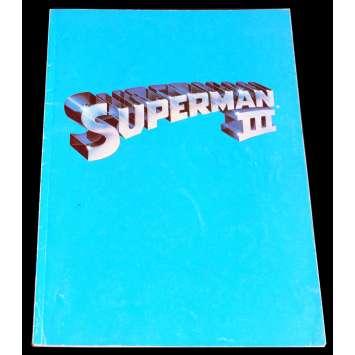 SUPERMAN III Programme 21x30 - 1983 - Christopher Reeves, Richard Donner