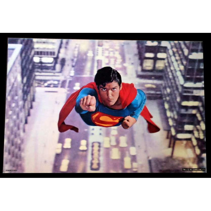 SUPERMAN Photo géante N2 76x51 - 1978 - Christopher Reeves, Richard Donner