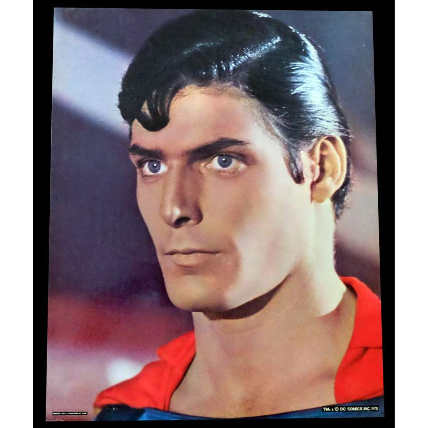SUPERMAN Photo géante N1 41x51 - 1978 - Christopher Reeves, Richard Donner