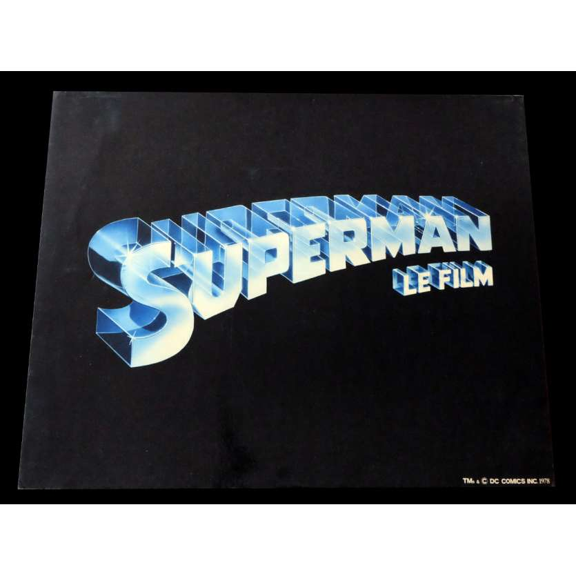 SUPERMAN US Jumbo Lobby Card N1 16x20 - 1978 - Richard Donner, Christopher Reeves -