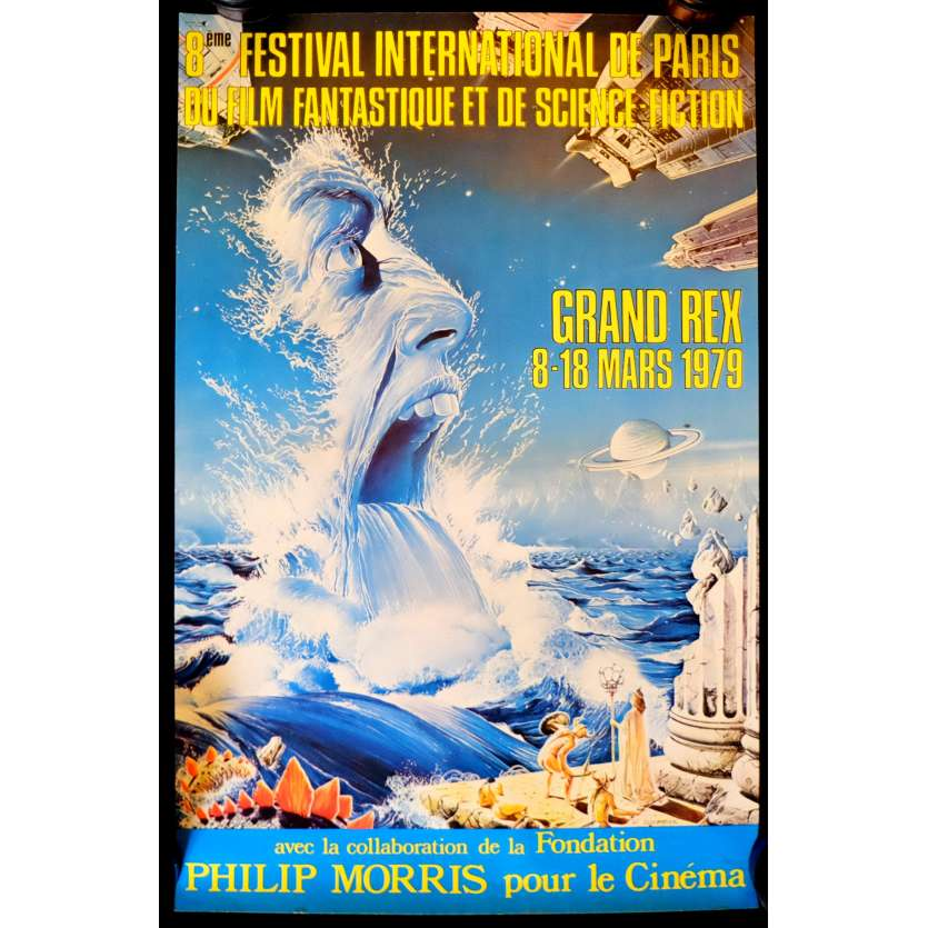 FESTIVAL DU FILM FANTASTIQUE DE PARIS Affiche - 1980 - ,