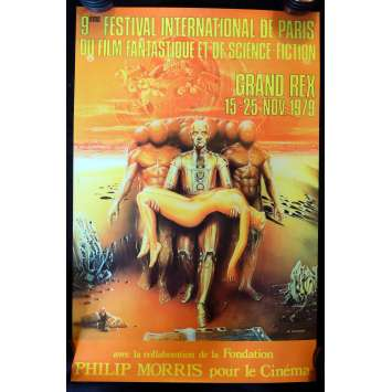 FESTIVAL DU FILM FANTASTIQUE DE PARIS Affiche - 1979 - ,