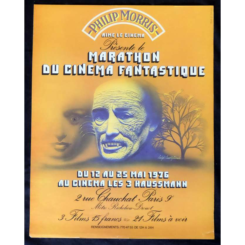 MARATHON CINEMA FANTASTIQUE French Poster 19x25 - 1976 - , -