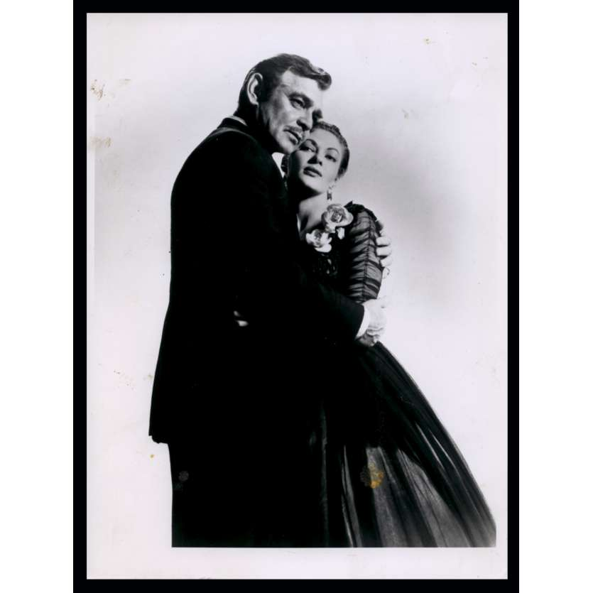 BAND OF ANGELS French Press Still N2 7x9 - R1970 - Raoul Walsh, Clark Gable, Yvonne de Carlo