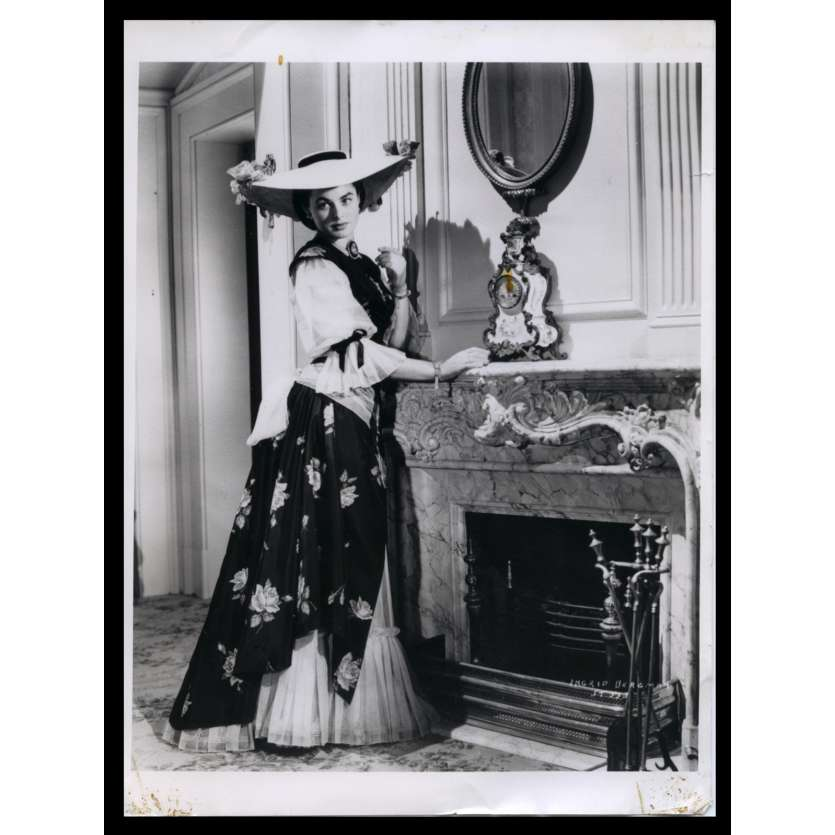 L'INTRIGANTE DE SARATOGA Photo de presse 18x24 - R1970 - Gary Cooper, Ingrid Bergman, Sam Wood